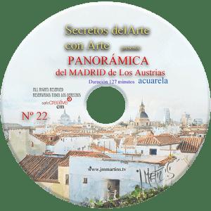 acuarela del Madrid antiguo