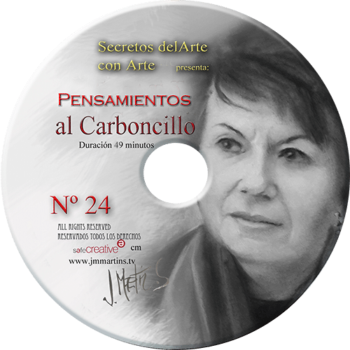 retrato al carboncillo