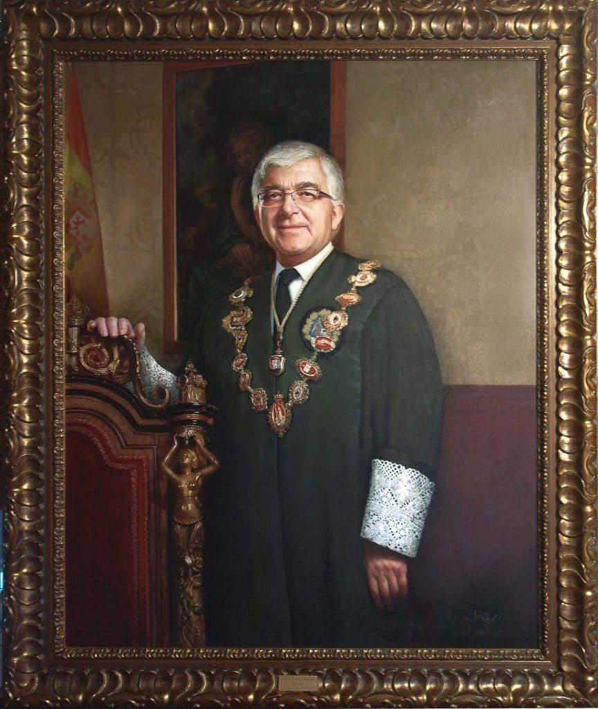 retrato oficial